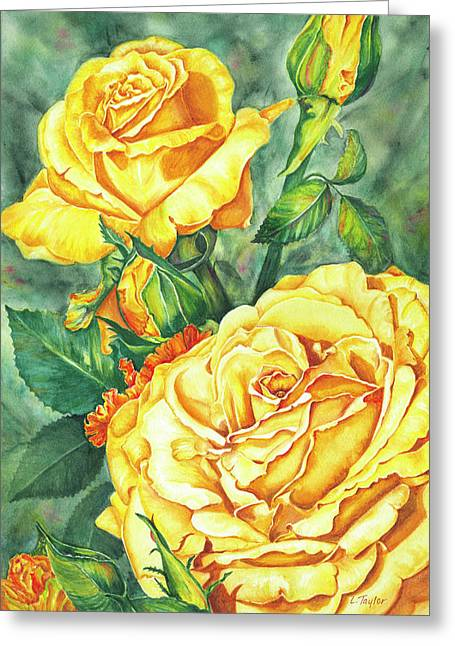 Mom's Golden Glory Greeting Card