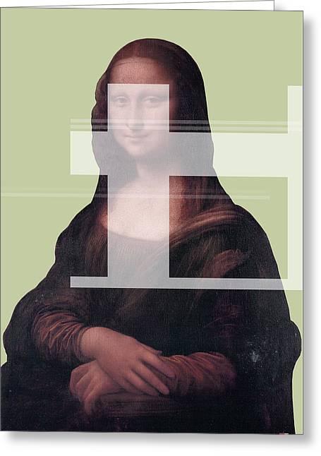 Mona 1 Greeting Card