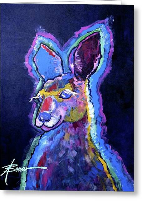 Mona Lisa 'roo Greeting Card