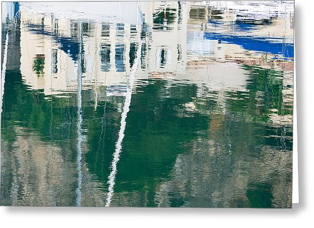 Monaco Reflection Greeting Card