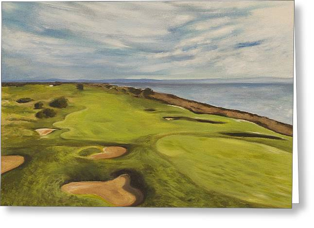 Monarch Bay Golf Course Greeting Card