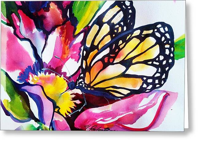 Monarch Light Sold Greeting Card