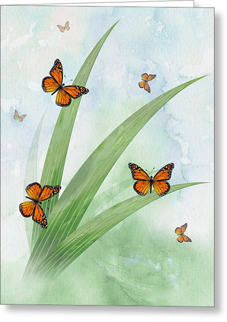 Monarchs Greeting Card