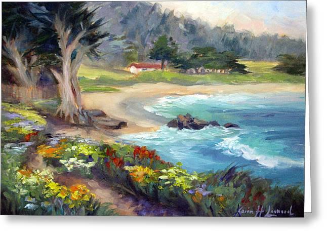 Monastery Beach, Carmel Greeting Card