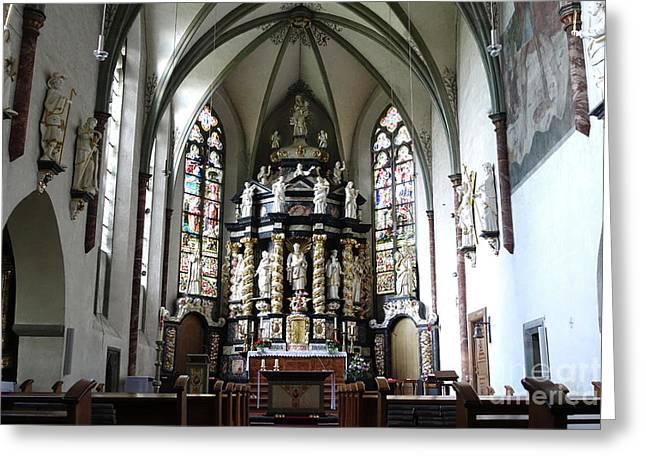 Monastery Church Oelinghausen, Germany Greeting Card