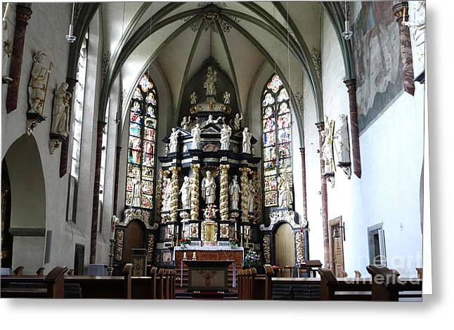 Monastery Church Oelinghausen, Germany Greeting Card