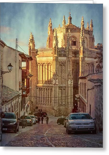 Monastery Of San Juan De Los Reyes Greeting Card by Joan Carroll