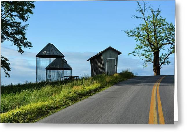 Mondale Road 2 Greeting Card