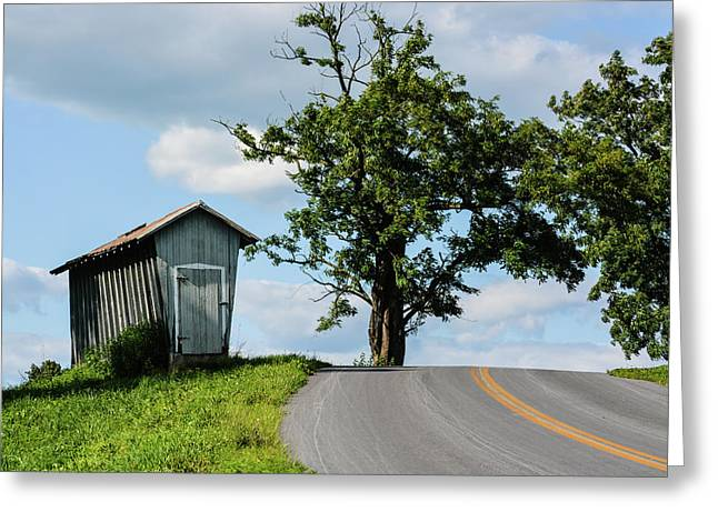 Mondale Road 4 Greeting Card