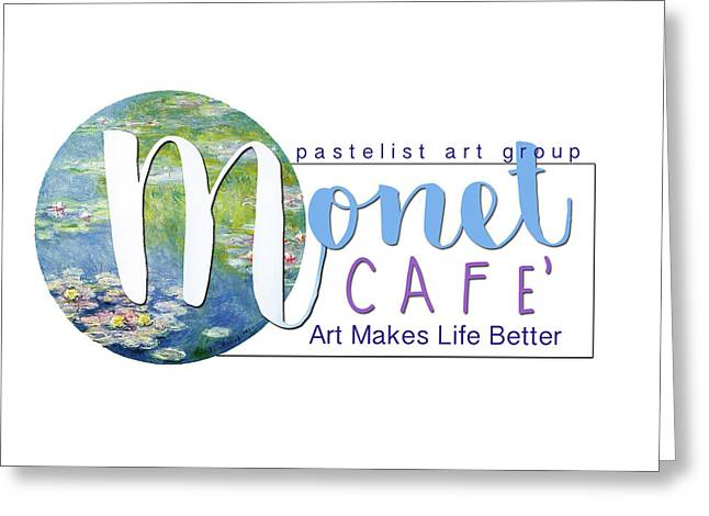 Monet Cafe' Products Greeting Card