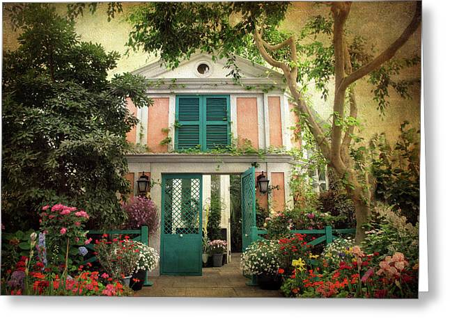 Monet Home Greeting Card