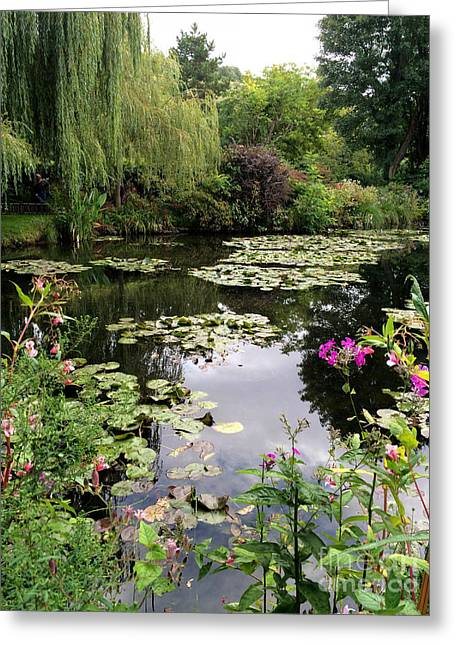 Monets Garden, Giverny, France Greeting Card