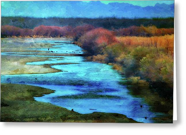 Monets Rio Las Cruces New Mexico Greeting Card