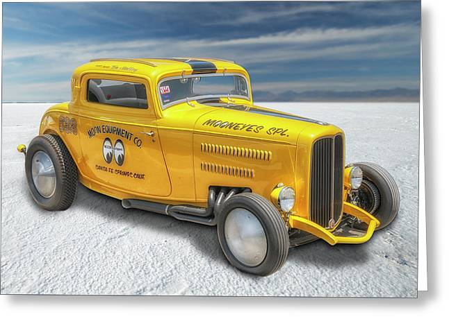Moneyes Special 32 Ford Coupe Greeting Card by Gary Warnimont