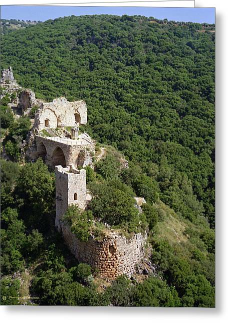 Monfort Fortress. Greeting Card