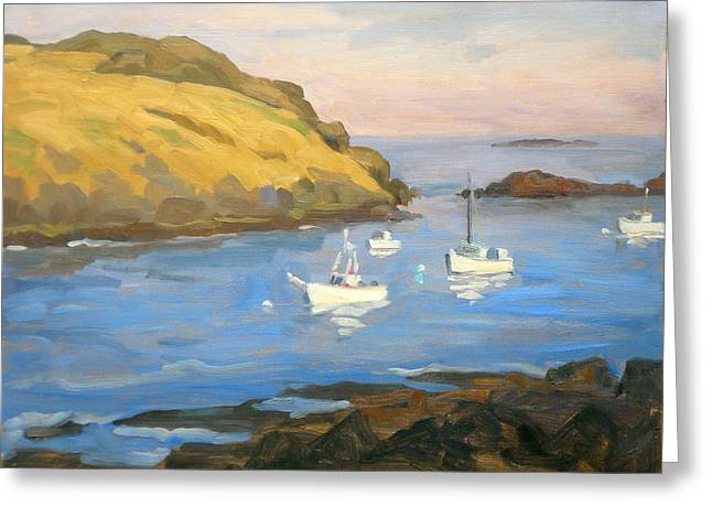 Monhegan Morning Greeting Card by Thor Wickstrom