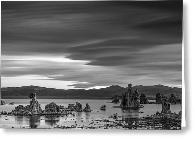 Mono Lake Greeting Card by Joseph Smith