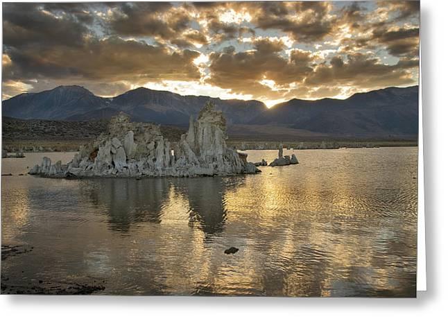 Mono Lake Sunset 3 Greeting Card