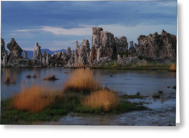 Mono Lake Tufas Greeting Card