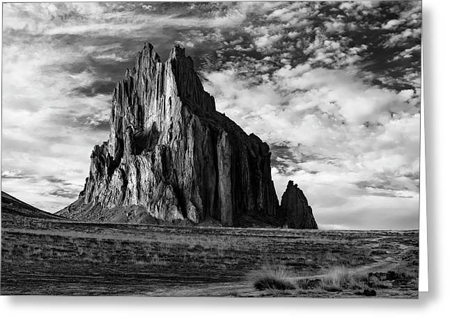 Monolith On The Plateau Greeting Card by Jon Glaser
