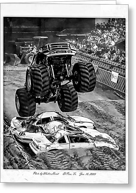 Monster Truck 2b Greeting Card