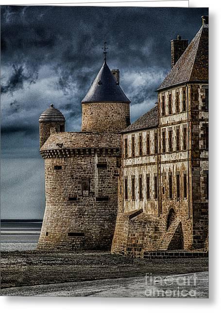Mont Saint Michel Greeting Card by John Karcher