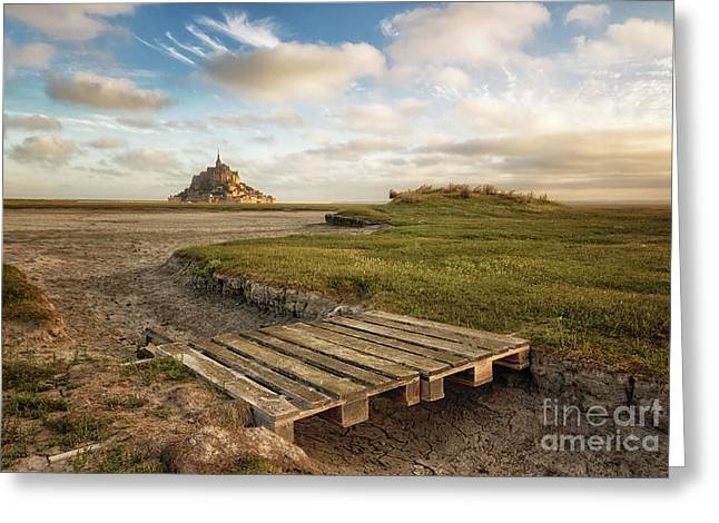 Mont Saint-michel's Bay Greeting Card