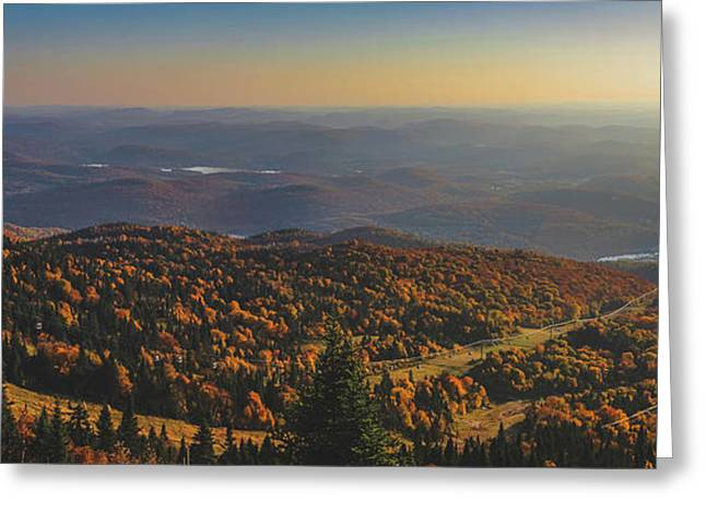 Mont Tremblant Summit Panorama Greeting Card