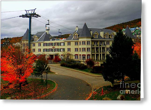 Mont Tremblant,quebec,canada Greeting Card