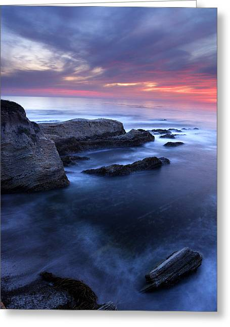 Montana De Oro Sunset Greeting Card by Eric Foltz