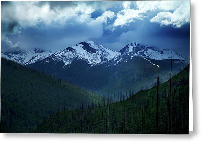 Montana Mountain Vista #2 Greeting Card