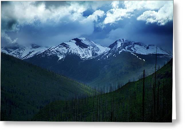 Montana Mountain Vista #2 Greeting Card