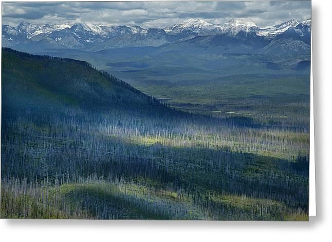 Montana Mountain Vista #3 Greeting Card