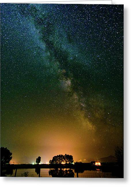 Montana Night Greeting Card