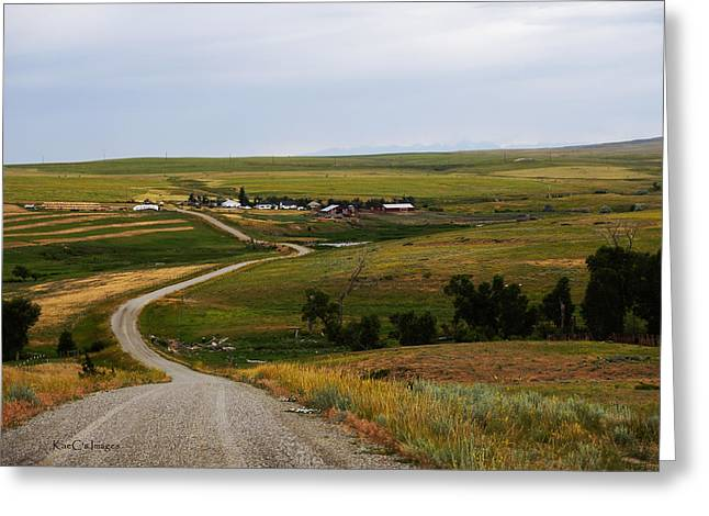 Montana Ranch 3 Greeting Card