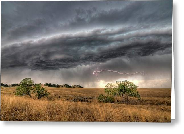 Montana Storm Greeting Card