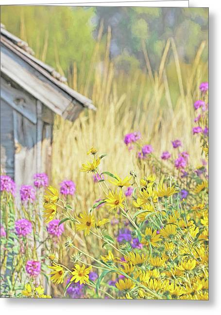 Greeting Card featuring the photograph Montana's Summer Flowers by Jennie Marie Schell