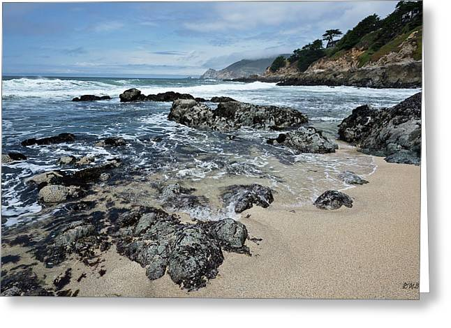 Montara Beach I Color Greeting Card