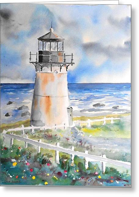 Montara Lighthouse Greeting Card