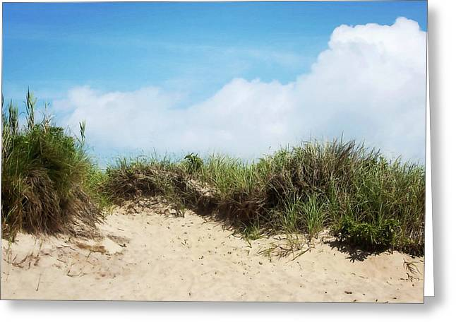 Montauk Coast New York Greeting Card by Art Block Collections