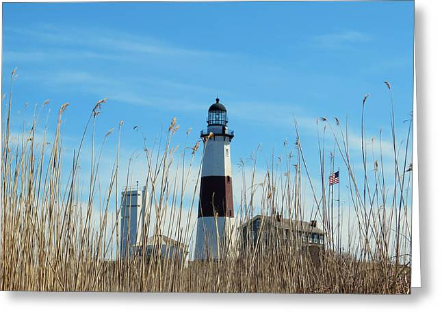 Montauk Point Lighthouse-3 Greeting Card