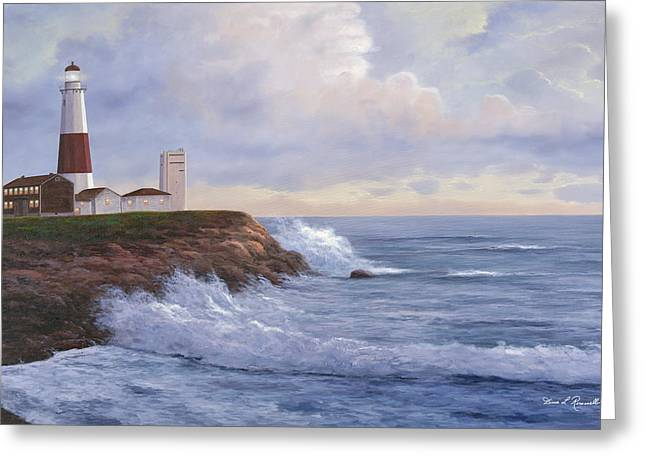 Montauk Point Lighthouse Greeting Card