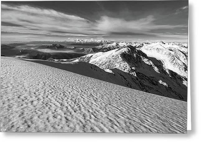 Monte Bregagno Italy Greeting Card by Alberto Restifo