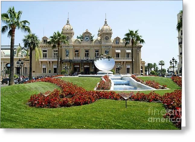 Monte Carlo Casino Greeting Card