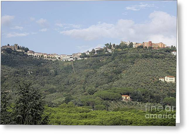 Montecatini Alto Greeting Card by Stan and Anne Foster
