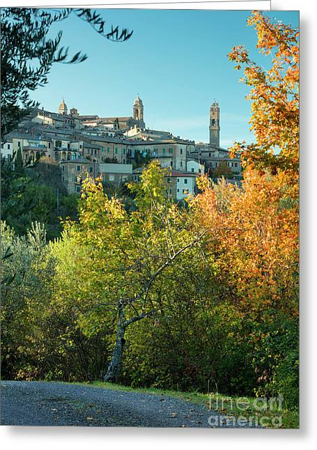 Montalcino View Greeting Card