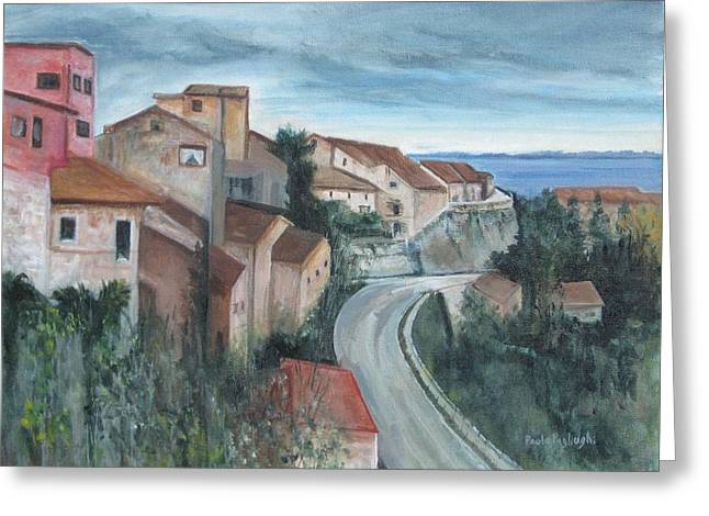 Montepulciano Greeting Card
