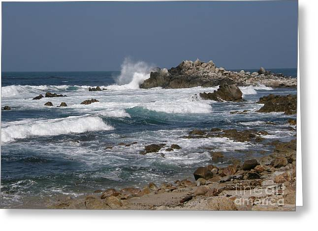 Monterey Coastline Greeting Card
