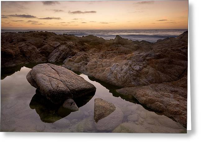 Monterey Sunset Greeting Card