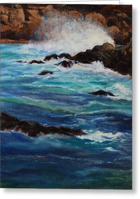 Monterey Wave #2 Greeting Card